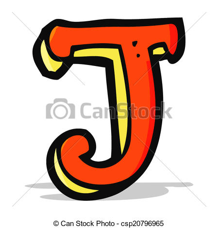 449x470 Cartoon Letter J Clip Art Vector