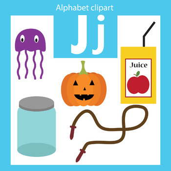 350x350 Alphabet Clip Art Letter J Beginning Sounds By Thinkingcaterpillars
