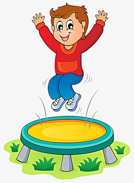 439x600 Child Jumping Trampoline, Child, Trampoline, Happy Png Image