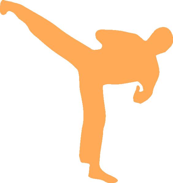 564x596 Karate Clip Art