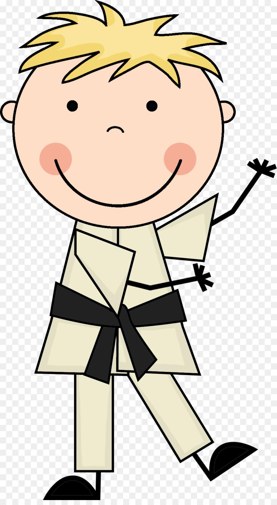 900x1640 Karate Clip Art