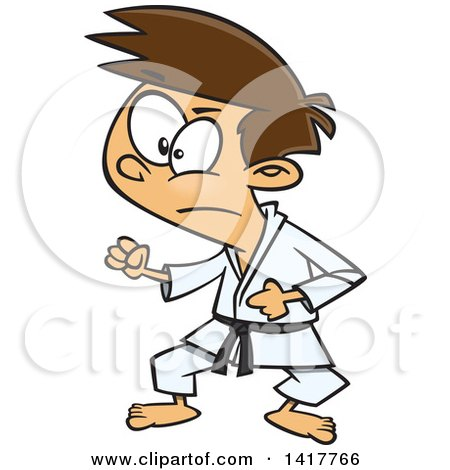 450x470 Royalty Free (Rf) Karate Clipart, Illustrations, Vector Graphics
