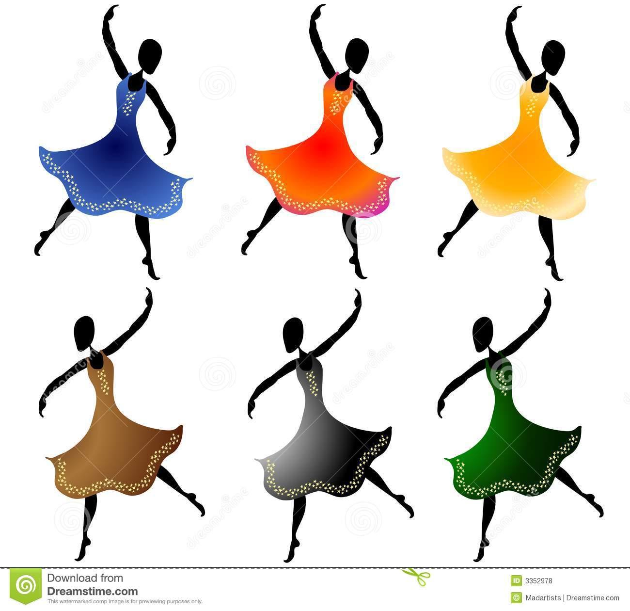 1300x1260 Ladies Dancing Clipart