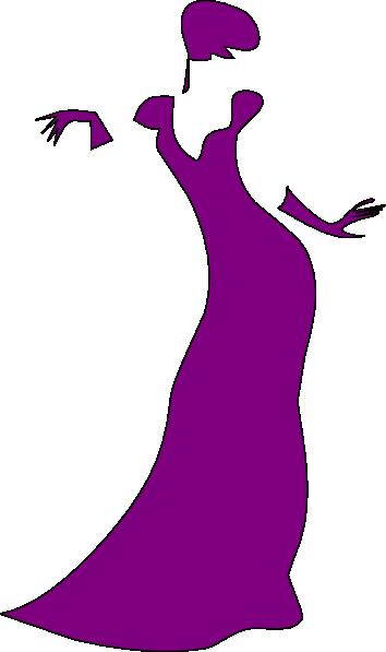 354x597 Purple Clip Art Images Purple Dancing Woman Clip Art Clip Art