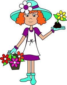 235x300 Women Clip Art Free Gardening Clip Art Images Gardening Stock