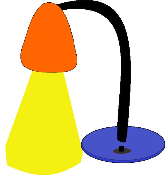 564x599 Desktop Lamp Clip Art Free Vector 4vector