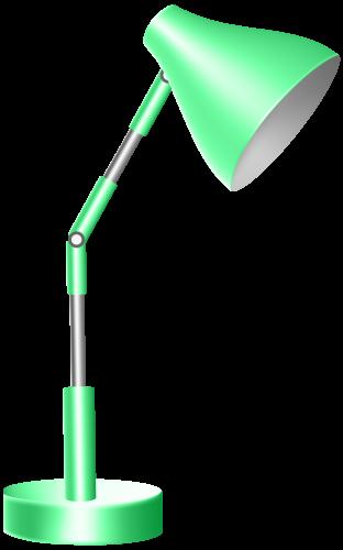 312x500 Green Desk Lamp Png Clip Art