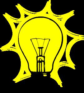 270x299 Bulb Lamp Clip Art