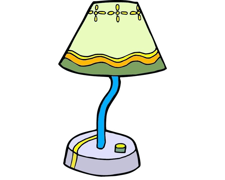 900x720 Clip Art Lamp Colorful Cartoon Lamps Colourful Cartoon Hang Lamp