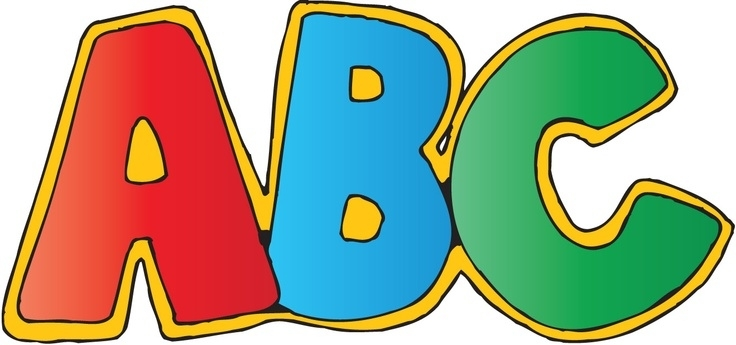 736x345 Clip Art Letters All About Letter Examples