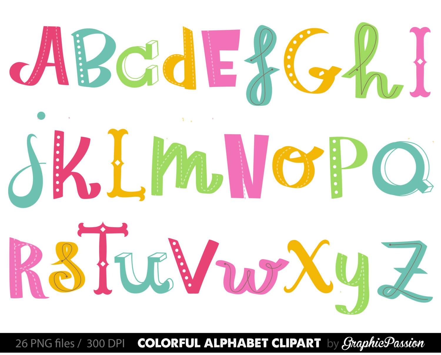 Clipart Letters Of The Alphabet At Getdrawings Com Free For