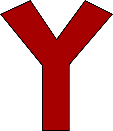 472x550 Red Letter Y
