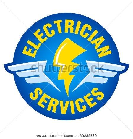 450x470 Electrician Logos Clip Art