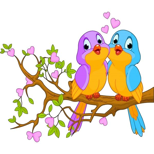 Clipart Love Birds