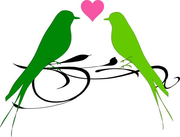 600x457 Love Birds Clipart Love Birds Clip Art
