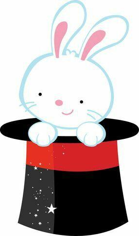286x486 Rabbit In Hat Magician Clip Art Free Bulletin Boards Doors