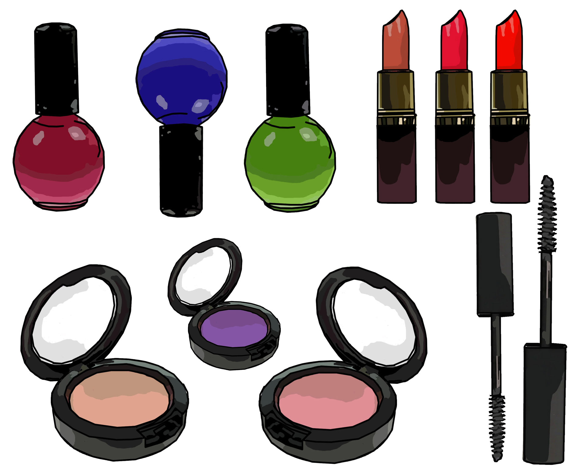 1920x1536 Makeup Clip Art Free Stock Photo
