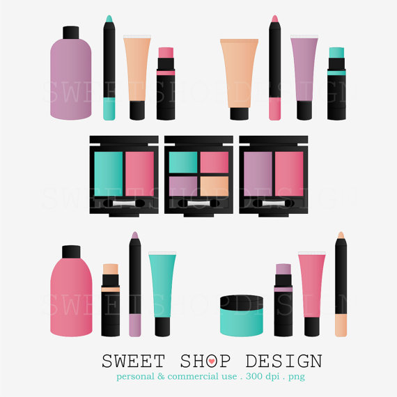 570x570 Beauty Makeup Clip Art Bridal Shower Clip Art Royalty Free