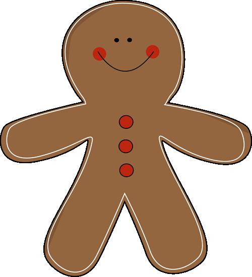 500x550 Free Gingerbread Man Clip Art