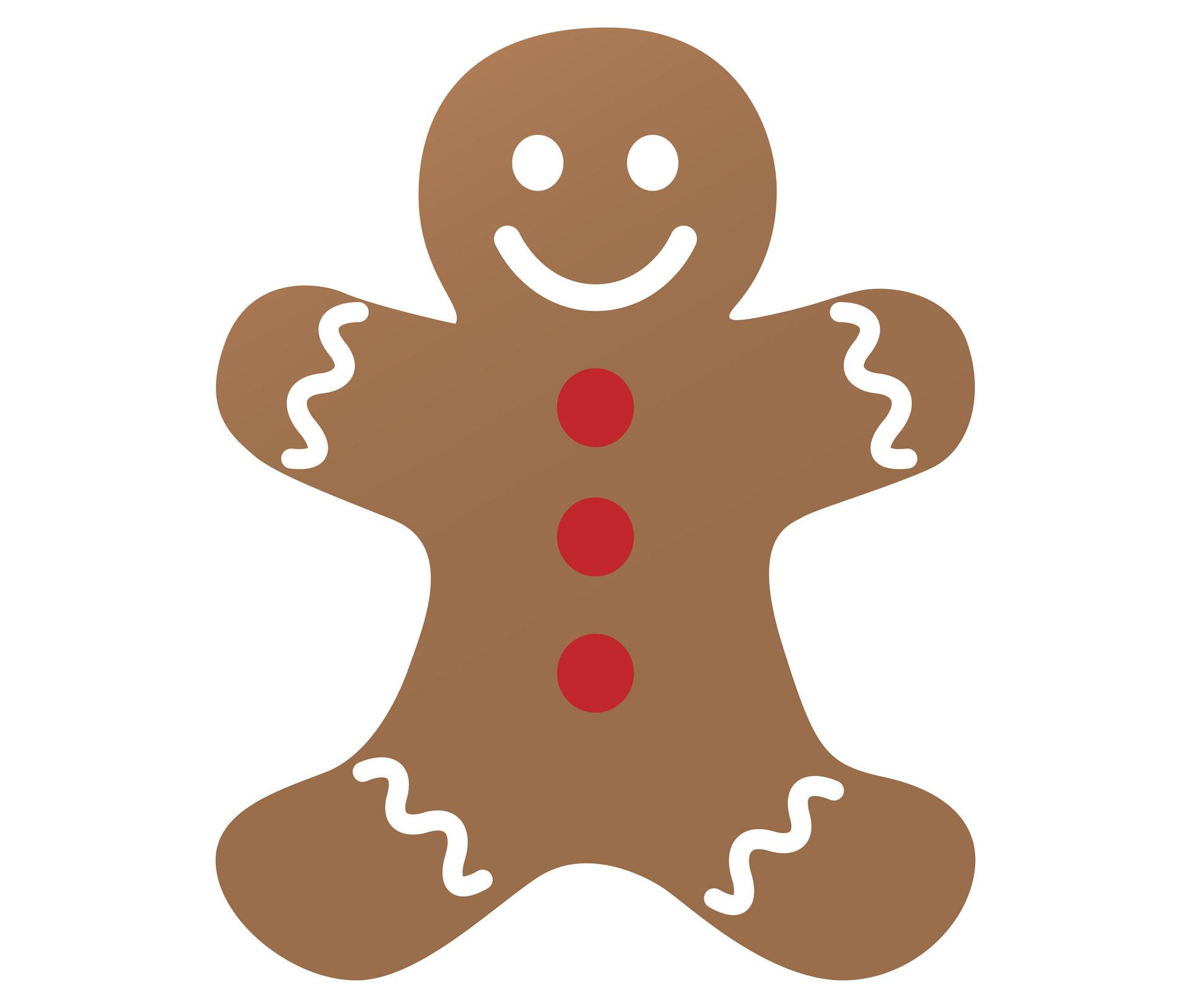 1920x1625 Gingerbread Man Clip Art Thatswhatsup