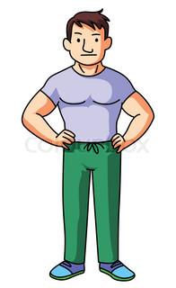 196x320 Clipart Cartoon Man Clip Art At Clker Com Vector Online