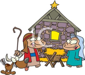 350x312 Clipart Of Nativity Scene Clipartmonk