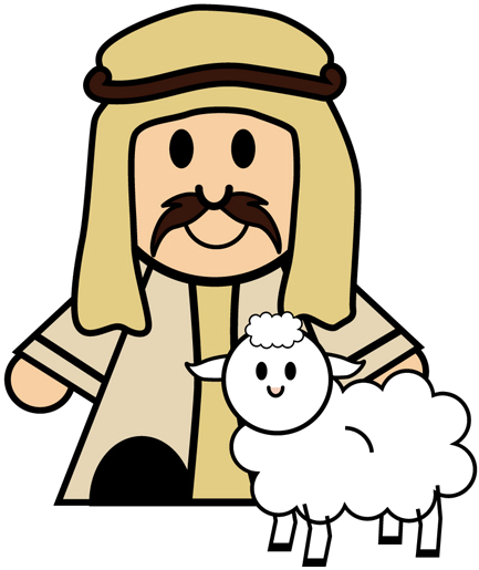 433x515 Collection Of Shepherds Clipart Nativity High Quality, Free