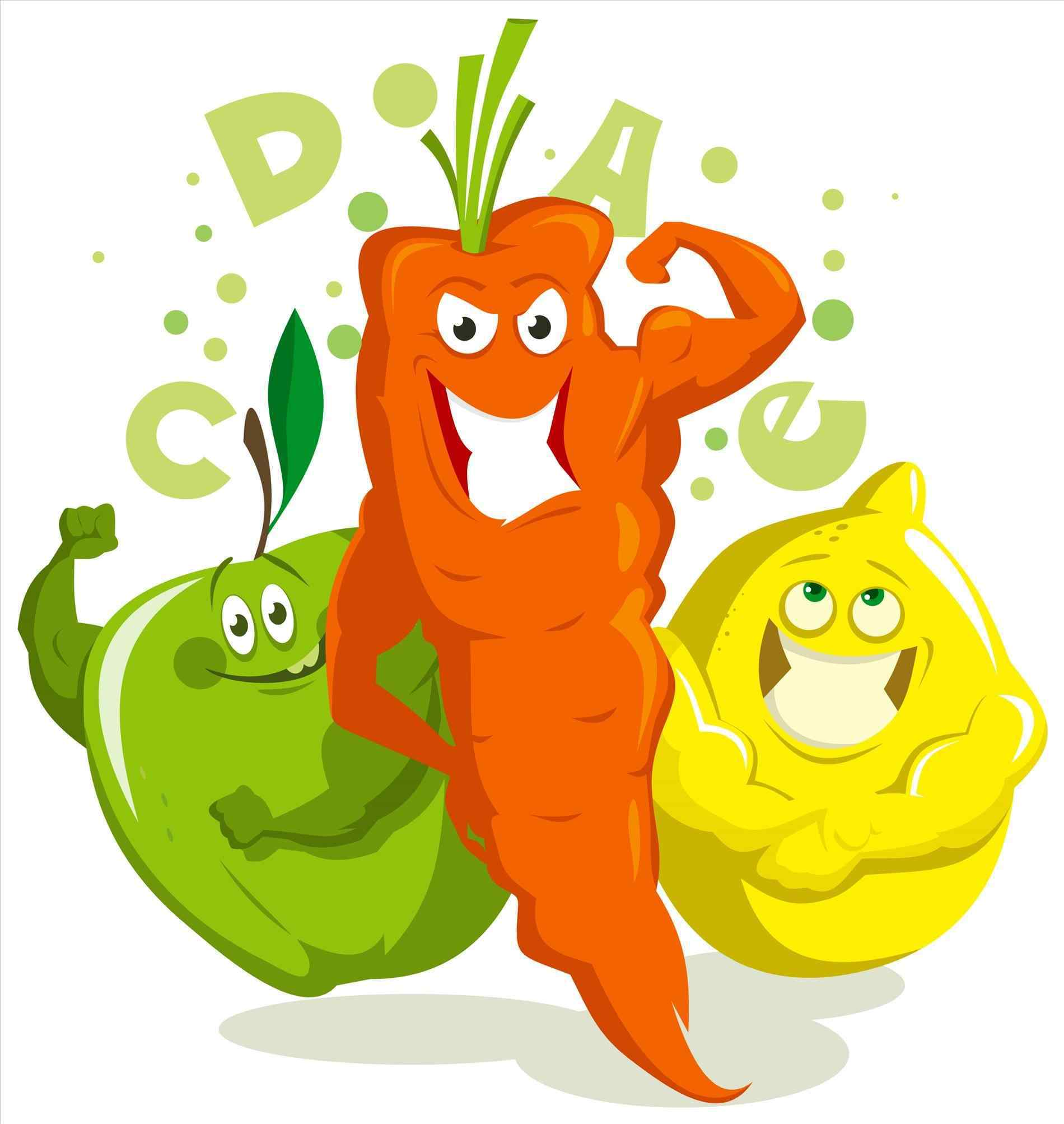 1900x2006 Une Balanced Diet Clipart Salade Vocabulaire Cuisine Manger Et