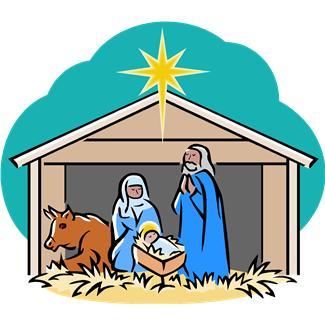 325x325 Christmas Clipart Jesus Birth