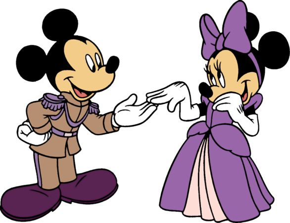 586x450 Mickey And Minnie Wedding Clip Art Mickey Mouse Pal Goofy Bike
