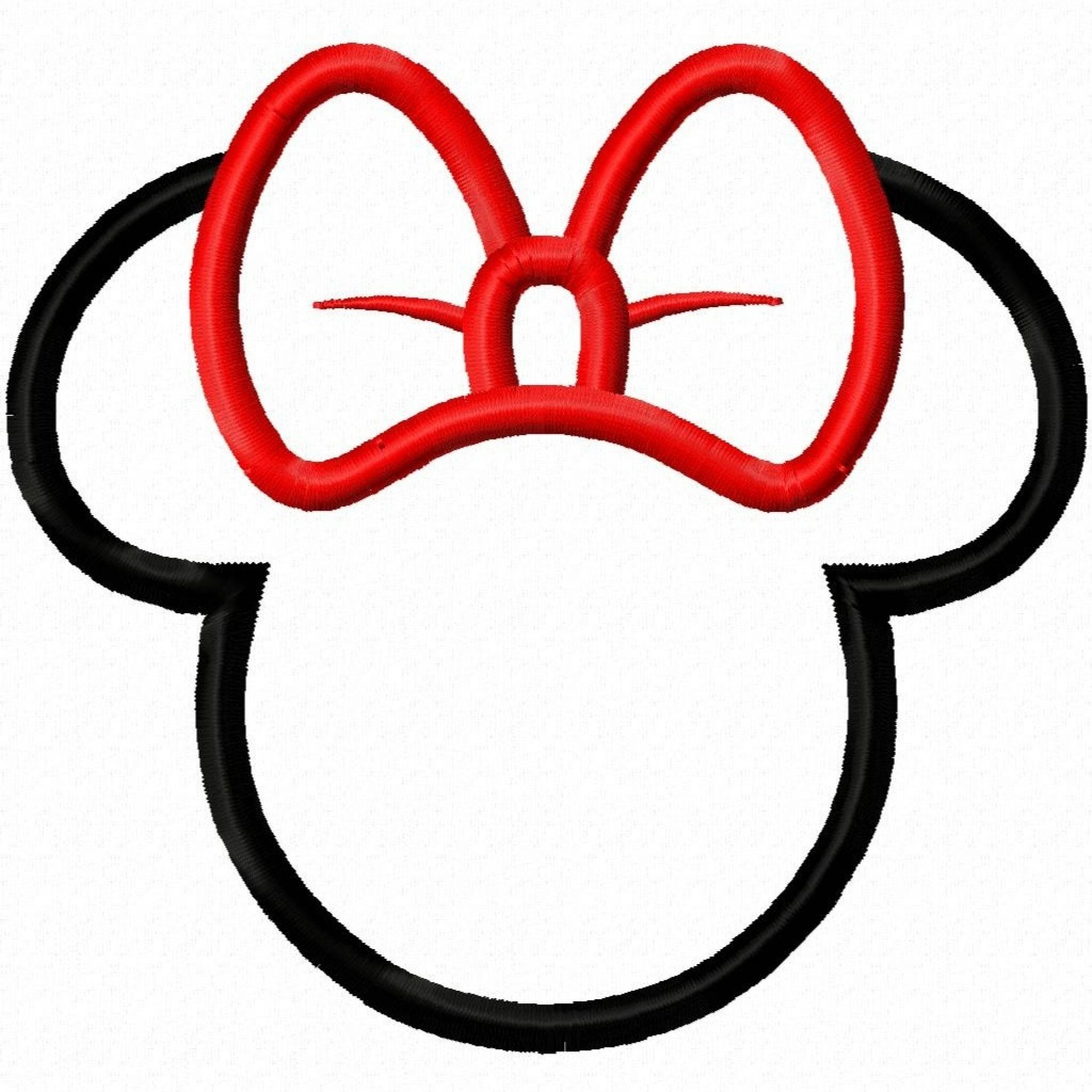 1920x1920 Minnie Silhouette Clip Art At Getdrawings Com Free For Personal