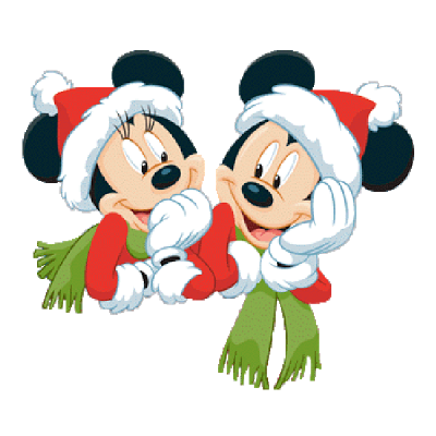 400x400 Christmas Clipart Mickey Mouse