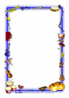 241x341 Musical Instruments Border Clipart Amp Musical Instruments Border