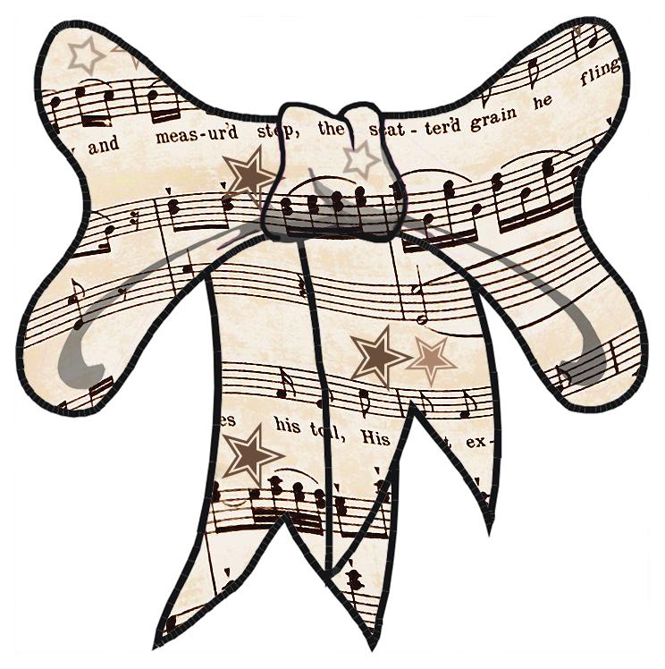 744x748 Musical Music Staff Clip Art Musicnotesclipartborders Simple Music