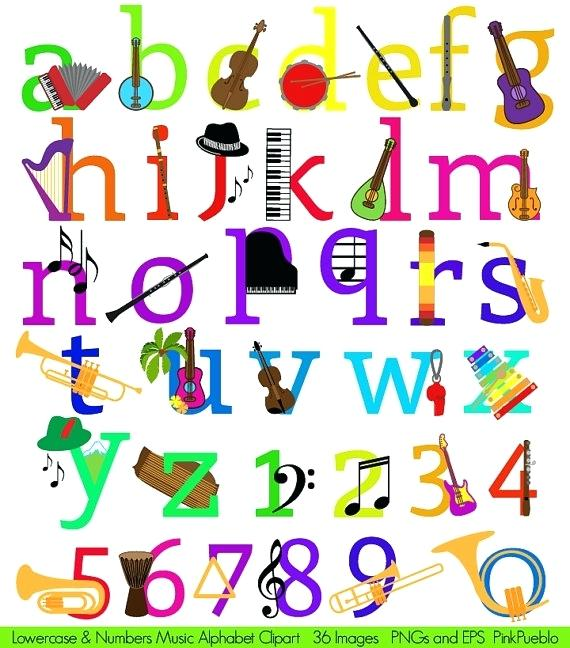 570x648 Alphabet Clip Art Free Letters Music Alphabet Clip Art Musical