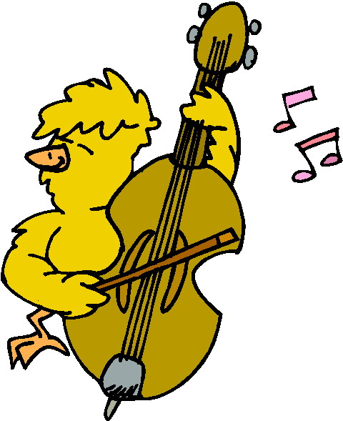 480x589 Clip Art Entertainment Music Animals