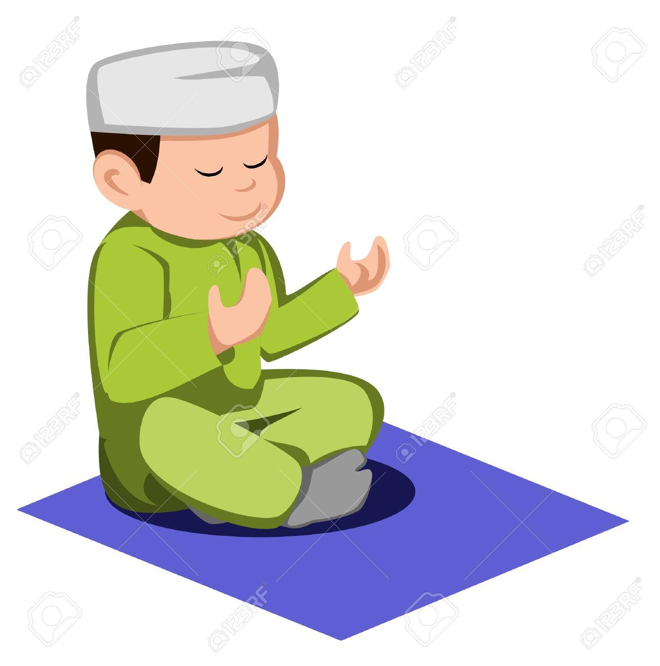 1289x1300 Muslim Praying Clipart