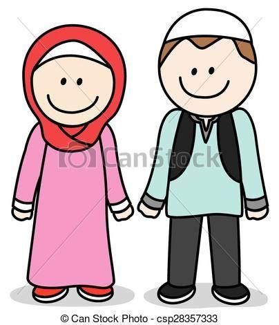 404x470 Nice Parent Clip Art Muslim