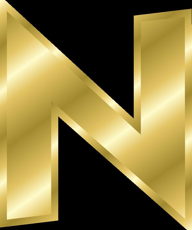 669x800 Free Clipart Effect Letters Alphabet Gold Chrisdesign
