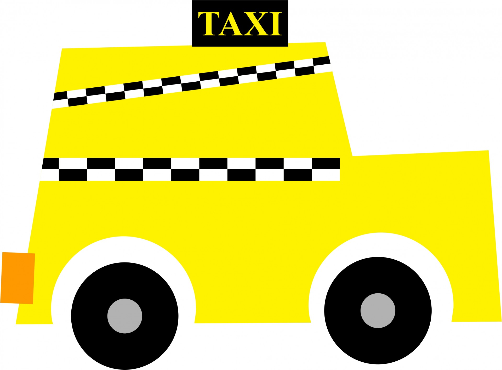 1920x1414 New York Taxi Clipart Free Stock Photo