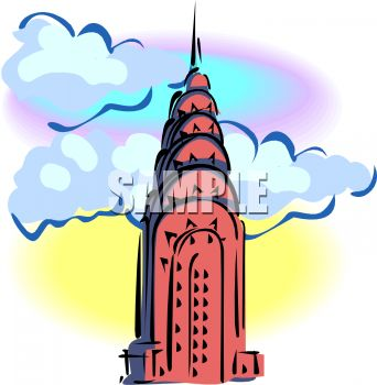 342x350 Empire State Building Top
