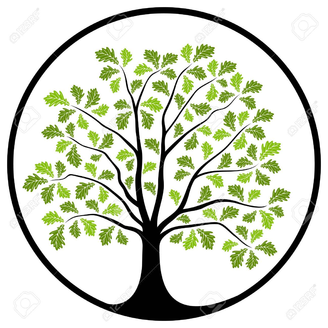 clipart oak tree at getdrawings com free for personal use clipart rh getdrawings com oak tree clip art free oak tree clipart silhouette