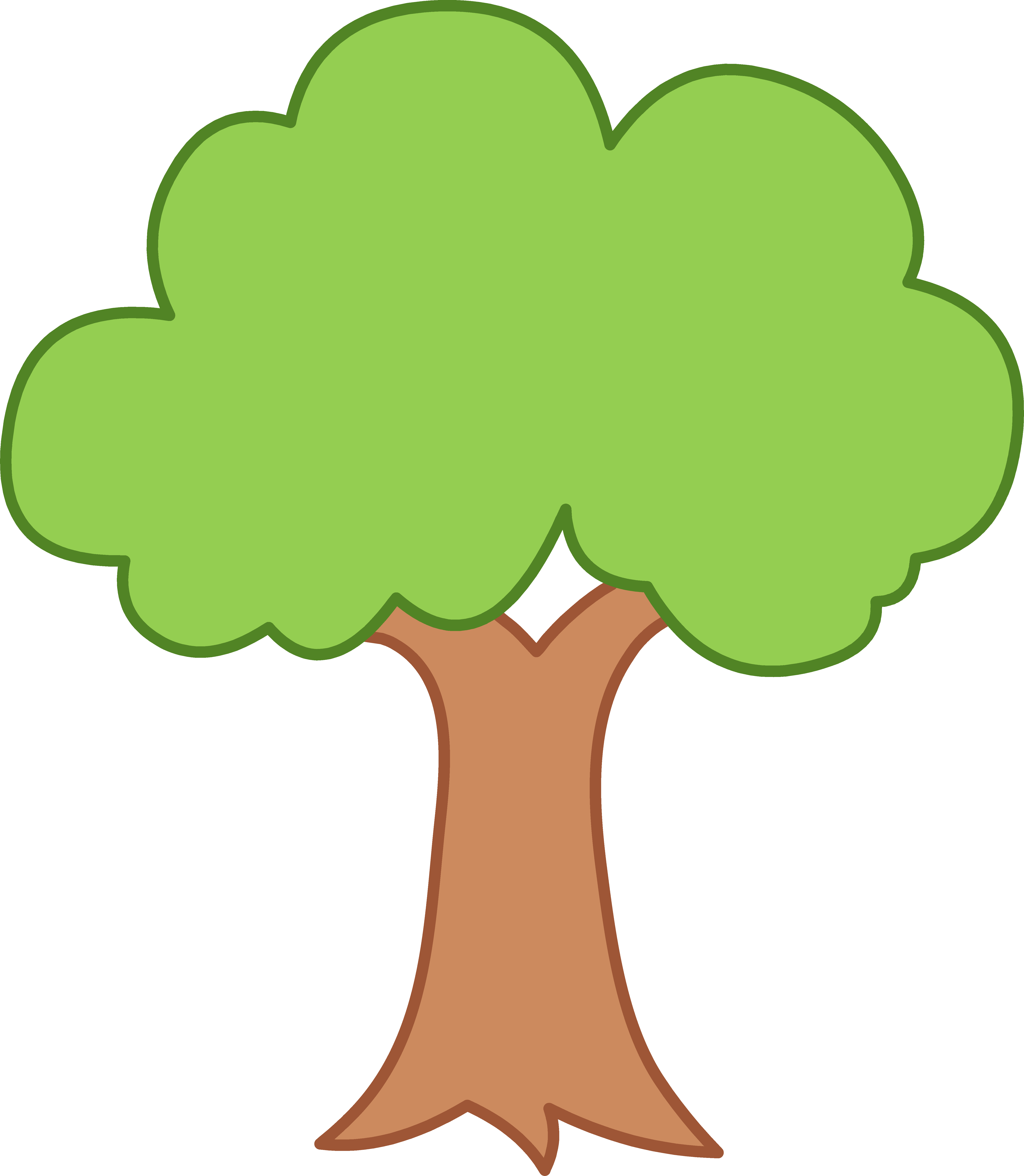 5548x6372 Clipart Of A Tree Clipartlook