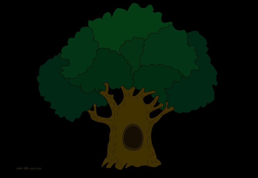822x567 Free Oak Tree Clip Art. Tree Clipart Panda