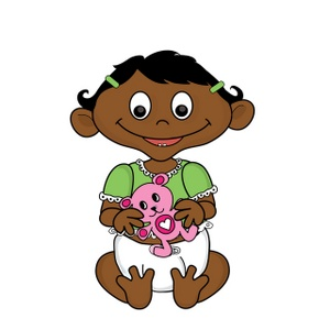 300x300 Free Baby Girl Clipart Image 0515 1002 0503 0044 Computer Clipart