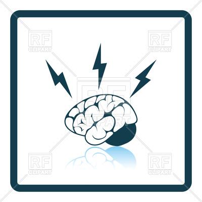 400x400 Icon Of Brainstorm