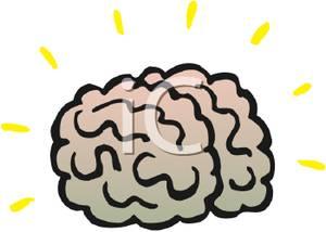 300x214 The Human Brain Clip Art Image Clipart Panda