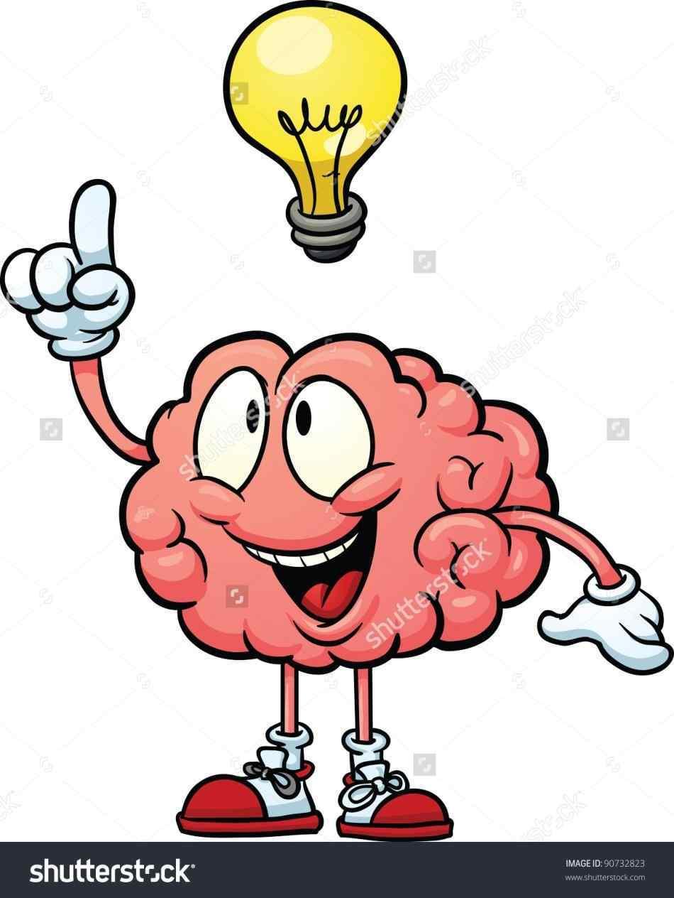 950x1264 Think Brain Clipart