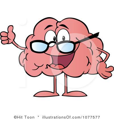 400x420 Brain Cartoon Clipart Free