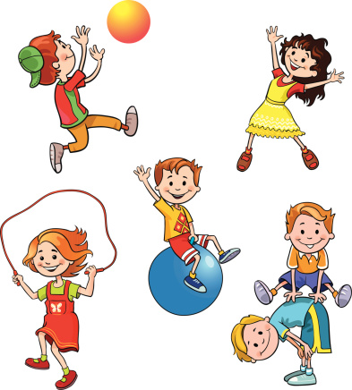 393x436 Healthy Children Clip Art Site About Children